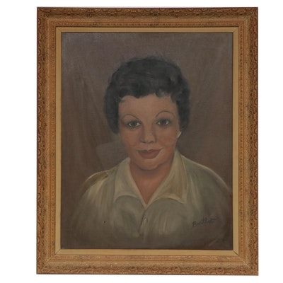 Portrait of Woman Oil Painting