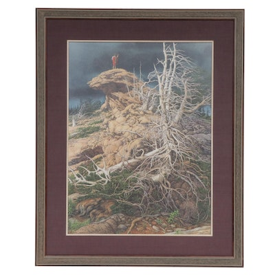 """Bev Doolittle Offset Lithograph """"Prayer for the Wild Things"""""""
