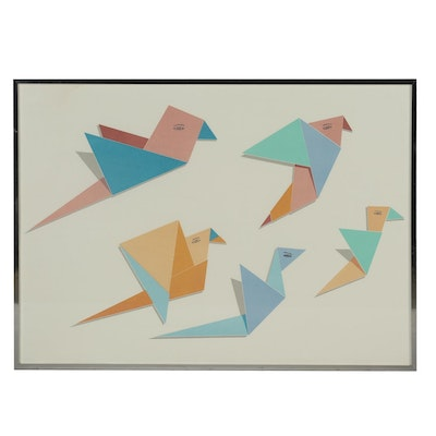 "Serigraph after Todd McKie ""Test Flight"""