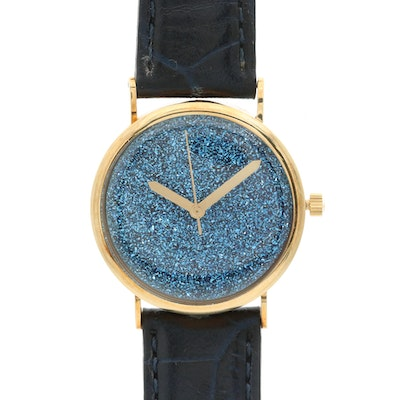 Vicence 14K Gold and Stainless Steel Quartz Wristwatch