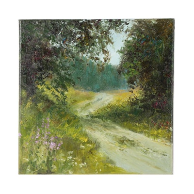 "Garncarek Aleksander Oil Painting ""Droga"""