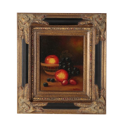 Still Life with Fruit Oil Painting