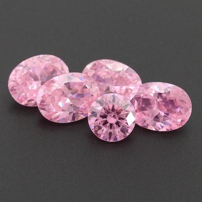 Loose 10.27 CTW Cubic Zirconia Gemstones