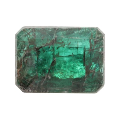 Loose 0.98 CT Emerald Gemstone