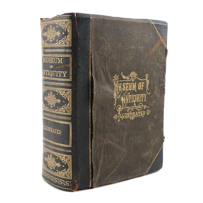 """Illustrated """"Museum of Antiquity"""" by L. W. Yaggy and T. L. Haines, 1882"""