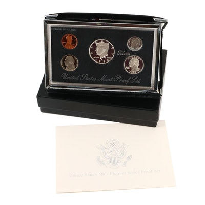 1998-S U.S. Mint Silver Premier Proof Set