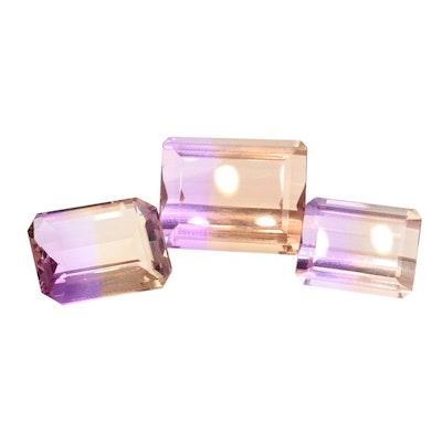 Loose 42.16 CTW Ametrine Gemstones