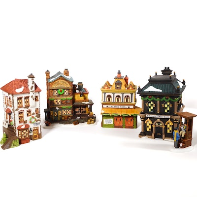 "Dept. 56 Dickens' Village Series ""Theatre Royal"" and Other Business"