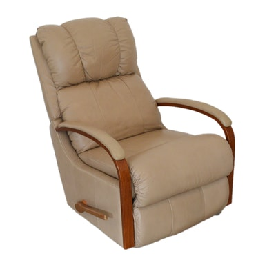 La-Z-Boy Leather Recliner, Late 20th Century