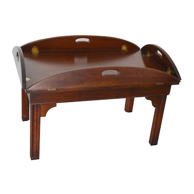 Chippendale Style Butlers Coffee Table, Late 20th Century