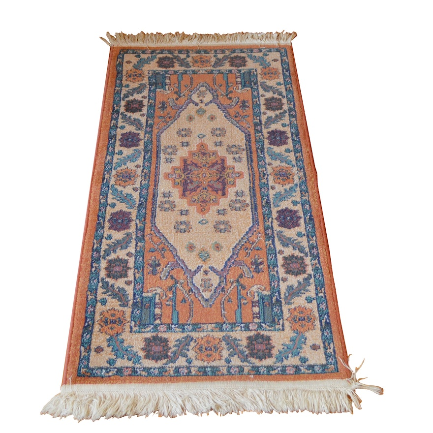 Hand-Knotted Oriental Weavers Wool Accent Rug