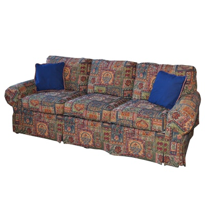 Key City Furniture Company Upholstered Sofa, Contemporary