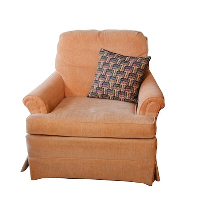 Woodmark Originals Upholstered Lounge Chair, Contemporary