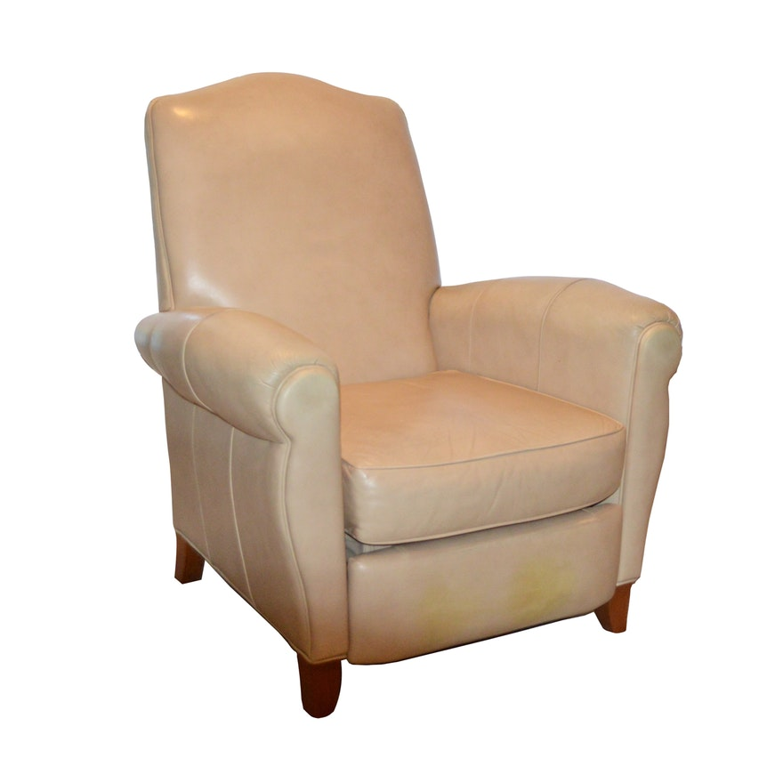 Cool Ethan Allen Leather Recliner Mid To Late 20Th Century Ebth Short Links Chair Design For Home Short Linksinfo