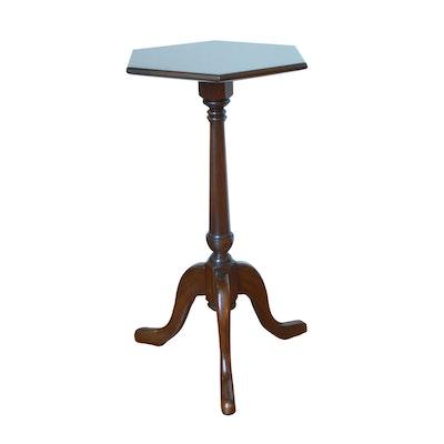 Harden Walnut Candlestand, Vintage
