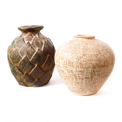 Terracotta Decor Vases