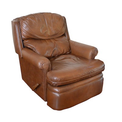 BarcaLounger Leather Recliner, Contemporary