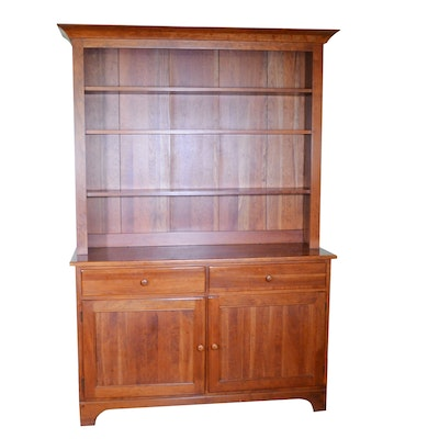 Brown Street Cherry Cupboard, Mid to Late 20th Century