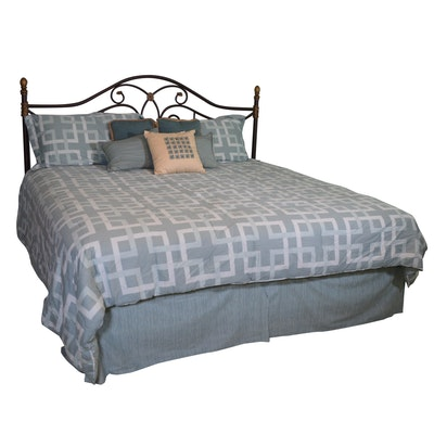 Apartment 9 King Reversible Comforter, with Shams and Bed Skirt