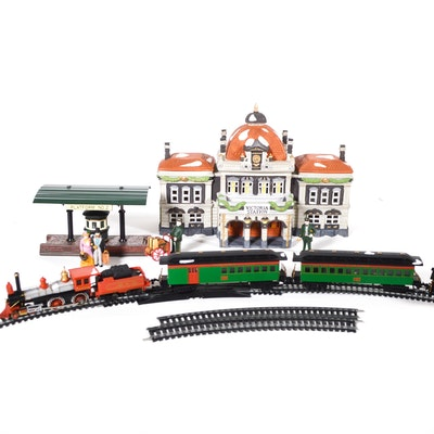 "Dept. 56 Dickens' Village Series ""Victoria Station,"" Village Express and Others"