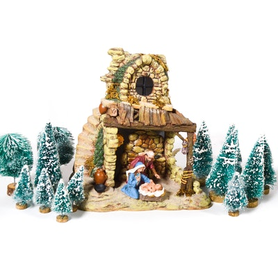 "Dept. 56 Porcelain ""Nativity"""