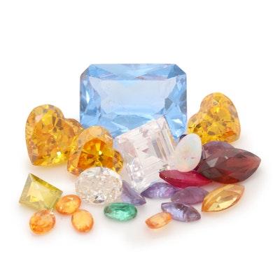Loose 39.53 CTW Gemstone and 1.50 CTW Diamond Assortment