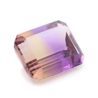 Loose 19.96 CT Ametrine Gemstone