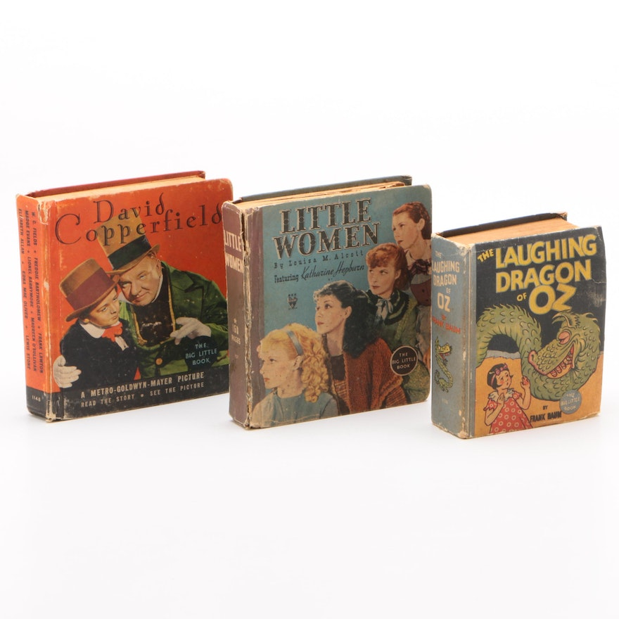"Whitman Publishing ""Big Little"" Books Including ""Little Women"", 1930s"