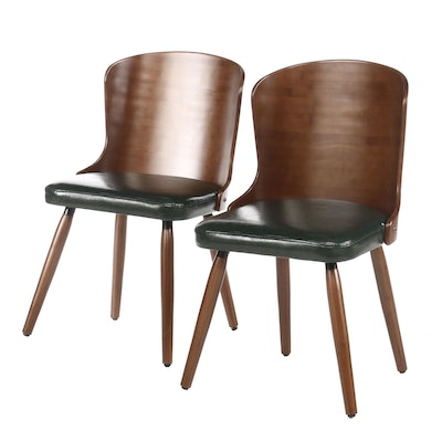 Pair of Modern Style Side Chairs