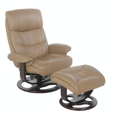 Lane Furniture Recliner and Ottoman