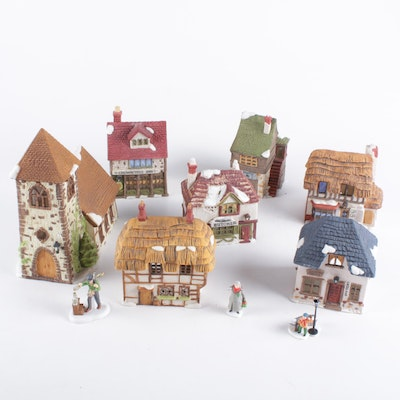 "Department 56 Heritage Village Collection ""Dickens' Village"" Porcelain Houses"