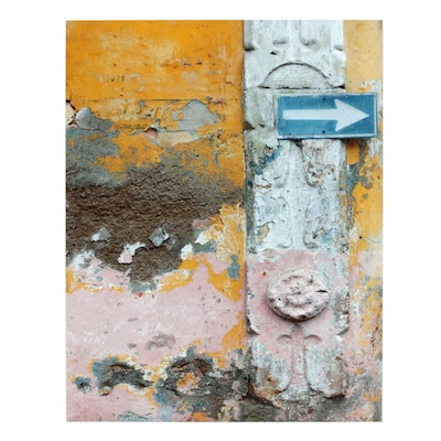 """Mario Duse Color Photograph """"This Way"""""""