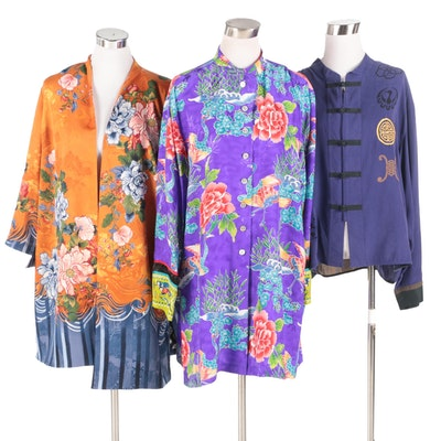 Chico's Brand Asian Inspired Jackets