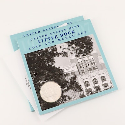 U.S. Mint Little Rock Coin and Medal Set