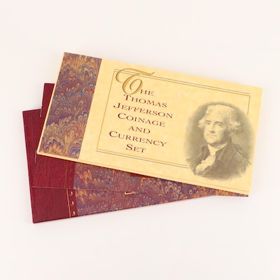 """Thomas Jefferson Coinage and Currency Set"""