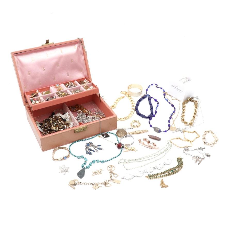 Skagen, Napier, Trifari, Lia Sophia & other Assorted Vintage Jewelry