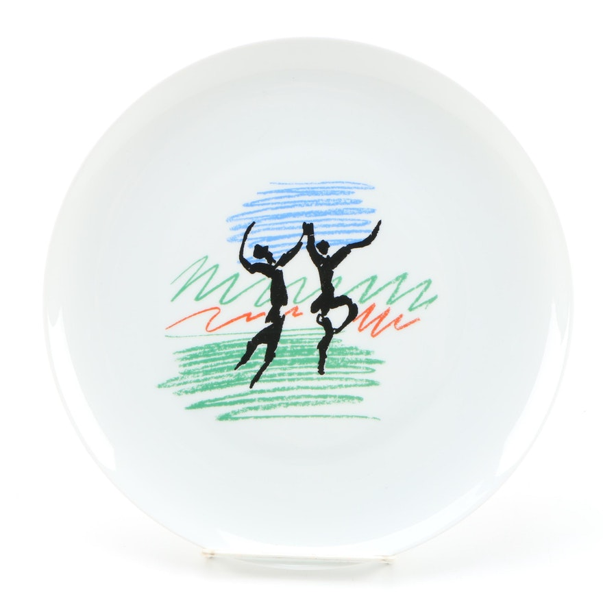 Pablo Picasso for Bernardaud & Co. Porcelain Dinner Plate