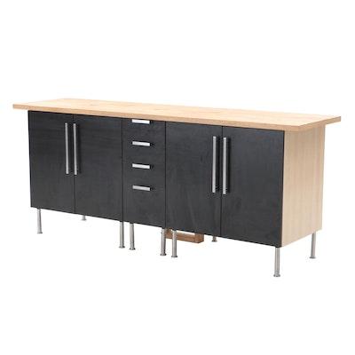 IKEA High Top Credenza Server, Contemporary