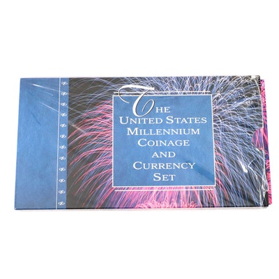 """United States Millennium Coinage and Currency Set"""