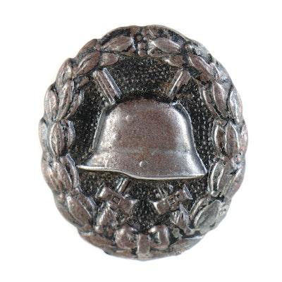 WWI Era German Wound Badge, Black (Third Class)