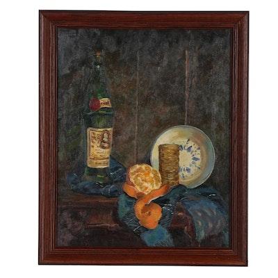 Xavier J. Barile Still Life Oil Painting