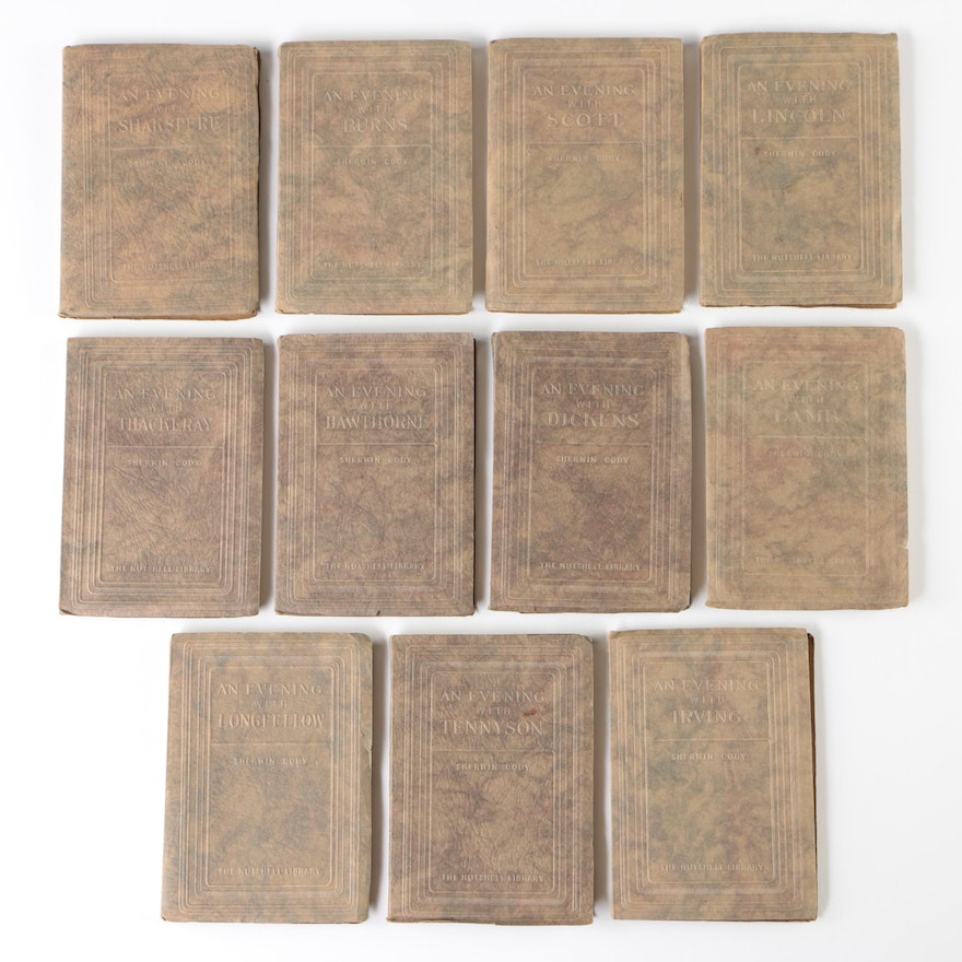 The Nutshell Library Series including Shakespeare, Dickens and More, 1927–1930
