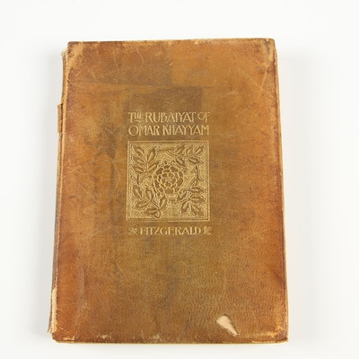 """Rubáiyát of Omar Khayyám"" with Edward Fitzgerald Translation, 1898"