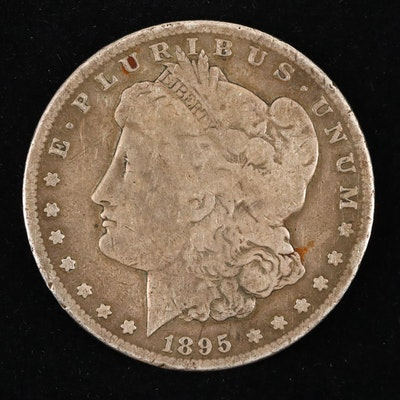 Low Mintage 1895-S Silver Morgan Dollar