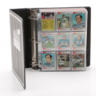 1973 Topps Football Trading Cards and More