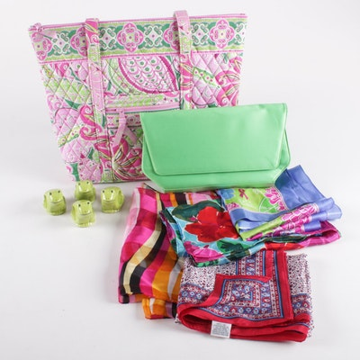 Emporio Armani, Vera Bradley, Echo and Other Scarves, Bags and Napkin Rings