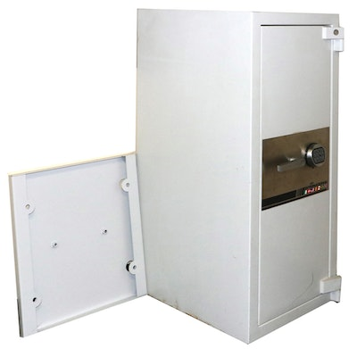 International Steel Vertical Storage Safe