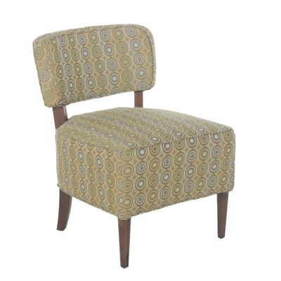 Contemporary Pier 1 Upholstered Accent Chair