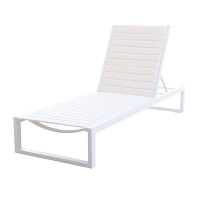 "Matthew Hilton ""Eos"" for Case Chaise Lounge in White"