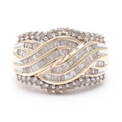 10K Yellow Gold 1.13 CTW Diamond Ring